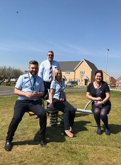 Bovis Homes colleagues Campton Fields Shefford